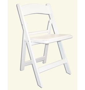 White Garden Chair Rental For The Chicago Area